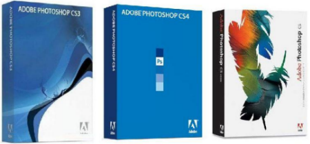 Adobe Photoshop CS3 CS4 CS5 Rus Micro XCV Edition